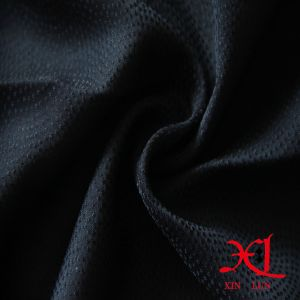 Black 50d*70d Chiffon Polyester Fabric for Hijab/Dress/Cloth pictures & photos
