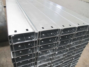 Building Material Steel Fabrication Used Cold Formed Galvanized C Purlin pictures & photos