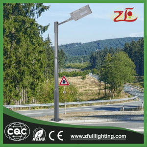 40W Die-Casting Aluminum All in One Integrated Solar Street Light Ce RoHS 2 Years Warranty pictures & photos