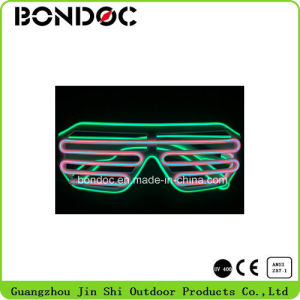 Good Quality High Brightness Party Flashing LED Sunglasses pictures & photos