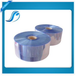 Transparent Blue PVC Tube Shrink Film for Outpacking pictures & photos
