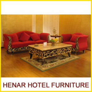 Wedding Couch Sofa Set/Wooden Living Room Furniture pictures & photos
