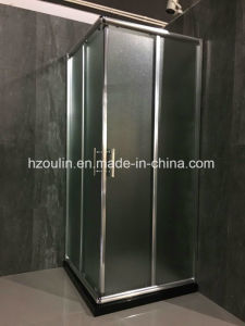 Square Shower Room with Fabric Glass pictures & photos