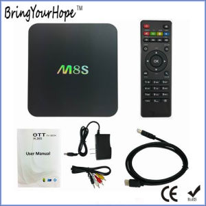 Hot Selling 2g+8GB M8s Andorid Smart TV Box (XH-AT-035) pictures & photos