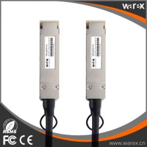 QSFP-H40G-CU1M Cisco Compatible DAC QSFP Passive Direct Attach Copper Cable 1M pictures & photos