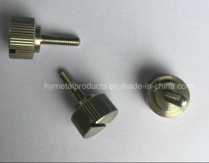 Custom Machining Part, Precision Turned Part, Stainless Steel Thumb Screw pictures & photos