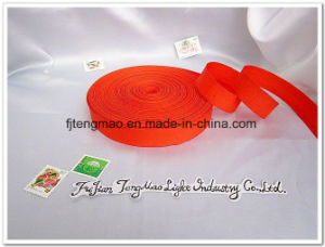 Light Color Fashion Polyester Ribbon pictures & photos