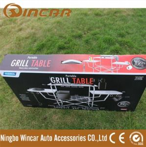 PVC Polyester Outdoor Camping Tables for Barbecue BBQ pictures & photos