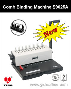 A4 Steel Comb Binding Machine (S9025A) pictures & photos