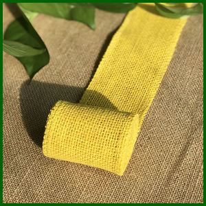 Eco-Friendly Colored Burlap Jute Cloth Roll pictures & photos