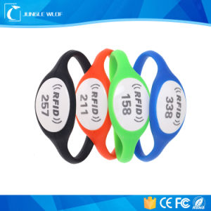 125kHz RFID Wristband, Tk4100 Em4200 Silicon Wristband pictures & photos