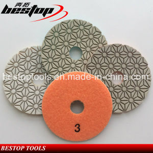 Bestop Hot Sales Resin Soft Polishing Pads for Engineered Stone pictures & photos