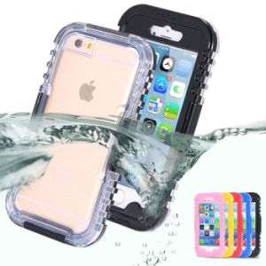 Waterproof Phone Case Swimming Case for iPhone 6 Silicone Case pictures & photos