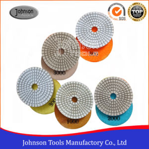 75mm Diamond White Wet Polishing Pad for Floor Polishing pictures & photos