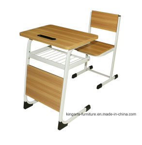 Single School Furniture School Table Sets pictures & photos