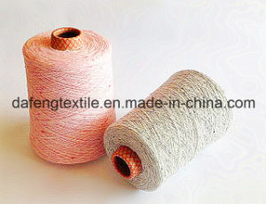 Colour Fibre Circle Yarn, 14nm- 28nm, for Knitting