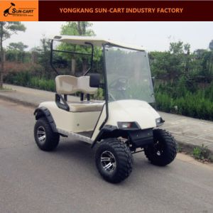 Hot Sale 2 Seater Electric Hunting Golf Cart pictures & photos