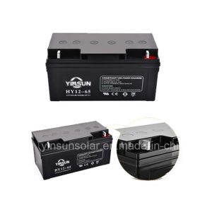 12V 65ah Factory Direct Sell Solar Battery pictures & photos