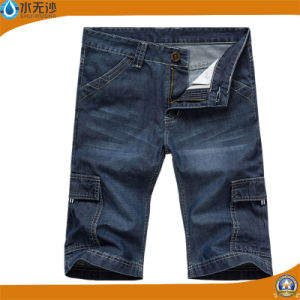 OEM Fashion Men′s Casual Short Jeans Bermuda Jean Shorts