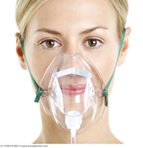 Disposable Oxygen Therapy Mask with Tubing pictures & photos