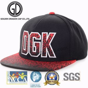 2017 Cool 100% Acrylic New Flat Brim Era Snapback Hat Baseball Cap with Rope Component pictures & photos