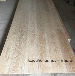 Engineered Wide Plank French Limed Wirebrushed Oak Flooring pictures & photos