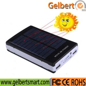 Hot Selling 10000mAh Portable RoHS Solar Charger Power Bank with Lights pictures & photos