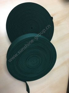 Promotional Item 3.5cm Green Elastic Tape pictures & photos