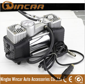 DC 12V Portable Car Tyre Inflator From Ningbo Wincar (W2009) pictures & photos