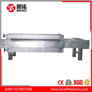 320 Stainless Steel Manual Plate and Frame Plate Filter Press pictures & photos