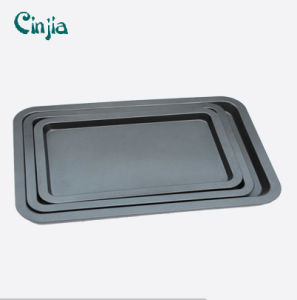 Carbon Steel Non-Stick Biscuit Baking Tray Coated with Teflon Baking Trays pictures & photos
