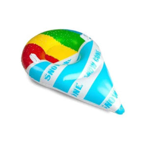 PVC or TPU Inflatable Ice-Cream Snow Ski Tube Playing pictures & photos