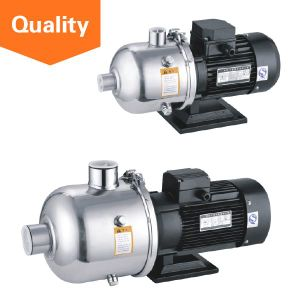 Three Phase Stainless Steel Horizontal Multistage Centrifugal Water Pumps pictures & photos