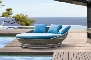 New Rattan Daybed Outdoor Furniture pictures & photos