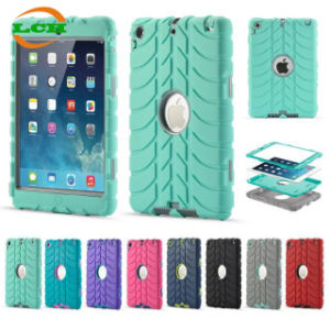 3 in 1 Tyre Pattern Shockproof Protective Tablet Case for iPad pictures & photos