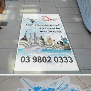 Antislip Lamination Vinyl Self Adhesive Floor Sticker pictures & photos