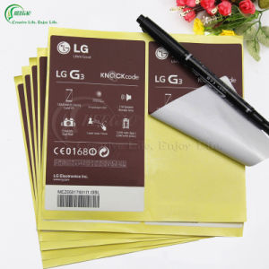 Paper Sticker Label for Daily Supplies (KG-PA036) pictures & photos