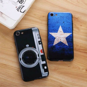 Fashion Emboss Anti Fall Phone Accessory Phone Case for iPhone 7/7 Plus pictures & photos