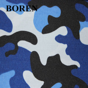 Camouflage Military Poly/Cotton Printed Fabric Waterproof pictures & photos