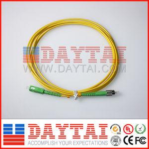 Sc/APC - FC/APC Fiber Optical Single Mode Patch Cord pictures & photos