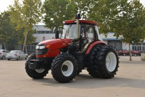 180HP Strong Wheel Tractor (LZ1804) with 4 Wheel Drive pictures & photos