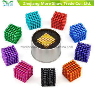 5mm 216PCS Neodymium Magnet Balls Magic Beads 3D Puzzle Ball-Sphere-Square-Toy pictures & photos