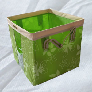 High Quality Square Foldable Laundry Basket pictures & photos