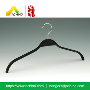 Black Wooden Laminated Clothes Hanger (WLTH100) pictures & photos