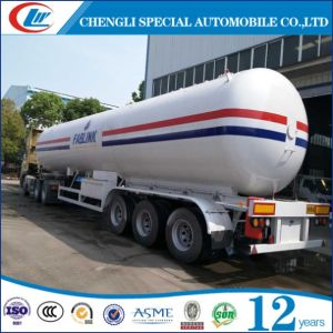 LPG Vessel Manufacturer 56cbm LPG Semi Trailer pictures & photos