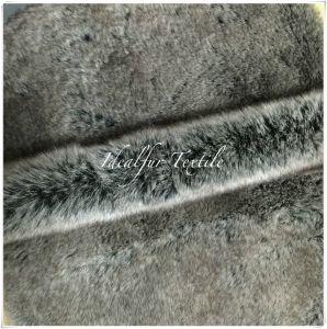 Faux Fur Animal Long Pile Fabric 3 Tones pictures & photos