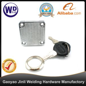 FL-5504 China Gold Plated Zinc Alloy 138-22 Drawer Lock pictures & photos