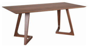 Modern Solid Wooden Restaurant Square Table pictures & photos