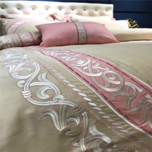 Professional Wholesale Brush Cotton Bedroom Bedding for Hotel Apartment pictures & photos