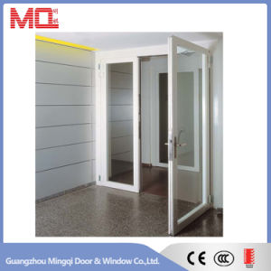 PVC Casement Glass Swing Door pictures & photos
